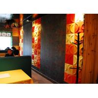 Buy cheap Colored Vinyl 3D Decorative Wall Panels from wholesalers