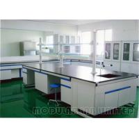 Buy cheap Floor Mounted Laboratory Work Benches with 304 SUS Phenolic Resin Epoxy Resin Plastic Laminate PP from wholesalers