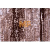 Buy cheap Polyester Warp Knitting Striped Upholstery Fabric With Soil Release Function product