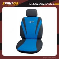 Buy cheap Black and Blue Car Interior Accessories Comfortable Car Seat Cover with Embroidered Logo from wholesalers