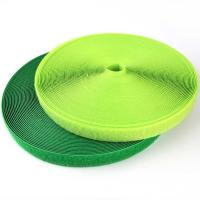 Buy cheap Flexible 50MM Hook And Loop Tape Navy Green Non Toxic With Sticky Power from wholesalers