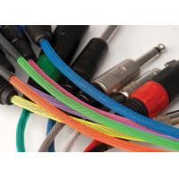Buy cheap Fire Resistant PET Expandable Braided Sleeving Halogen Free For Cable Harness from wholesalers