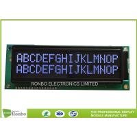China DFSTN Negative Black 16x2 Character LCD Display , Lcd Screen Module COB Type on sale