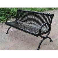 Buy cheap Powder Coat / Galvanized Metal Garden Chairs 3 Seater Garden Bench from wholesalers