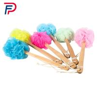 Buy cheap Factory directly beautiful body cleaning plastic bath brush with long handle from wholesalers