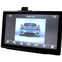 Buy cheap 7 Inch 800x480 HD GPS Car Navigation System With FM AV Free Maps product