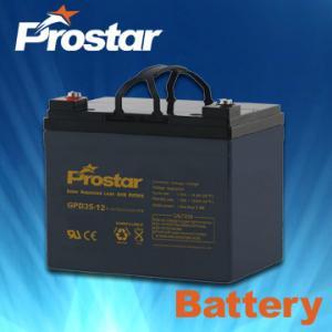 Buy cheap Deep cycle solar batteries 12V 35AH GPD35-12 product