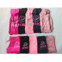 Buy cheap wholesale pink tracksuit sportswear women's clothing set from wholesalers