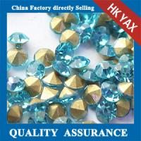 Buy cheap Hot selling crystal chaton rhinestone,chaton rhinestone crystal fashion clothing shoes bags,crystal chaton rhinestone from wholesalers