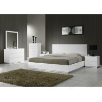 Buy cheap Adult Wooden Bedroom Furniture Sets , Strong Structure 5 Piece Bedroom Set King  from wholesalers