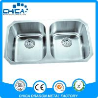 Cupc best quality single bowl 304 stainless steel kitchen for Best quality stainless steel kitchen sinks
