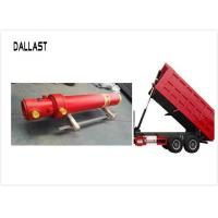 Buy cheap Standard Hydraulic Lift Cylinder Multi Stage Single Acting Chrome for Truck Lifting product