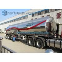 Buy cheap Customized 40000L Aluminum 5454 Tank Semi Trailer Three Axle Trailers from wholesalers