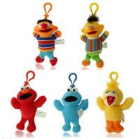 Buy cheap Cute Sesame Street Plush Keychain Stuffed Toys with Hook For Promotion Gifts product