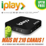 Buy cheap HDMI 2.0 Brazilian IPTV Box Brasil , Iplay Portuguese TV Box No Time Limited from wholesalers