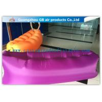Buy cheap Pink Fashion Portable Inflatable Air Bed for Outside Sleeping / Resting from wholesalers