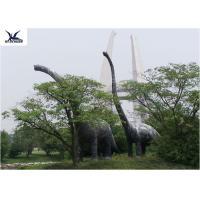 Buy cheap Amusement Facility Animatronic Lifelike Animal StatuesMoving Dinosaur Models product