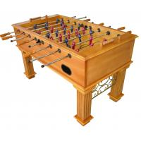 Buy cheap Sport Competition Soccer Game Table 5 Feet Tournament Foosball Table With Wood Veneer from wholesalers