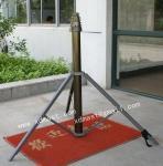 Buy cheap portable tripod handbrake mobile antenna telescoping mast from wholesalers