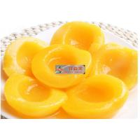 Buy cheap Naturally Sweet Organic Canned Peaches Fruit Without Additives / Sugar from wholesalers