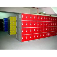 Buy cheap Swimming Pool Green Shoe Storage Locker smart ABS locker easy installation from wholesalers