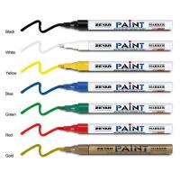 Buy cheap 16 colors Good quality acrylic tip Aluminum barrel paint marker for metal from wholesalers