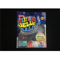 Buy cheap Three Side Seal Packing Poly Bags  4 Mil Printing Matte Bopp For Jelly Ball Packaging from wholesalers