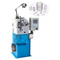 Buy cheap High Efficiency Wire Bending Machine , Belleville Spring Coiling Machines With 2 Axis from wholesalers