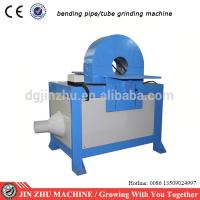 Buy cheap bending pipe hairline finishing machine for grinding tubes with angle from wholesalers