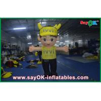 Buy cheap Events Party Moving Inflatable Cartoon Characters With Oxford Cloth from wholesalers