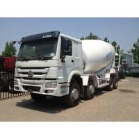 Buy cheap PTO Mixer Cement Truck 8x4 12 Cbm With Warranty 6 Cylinder In Line from wholesalers