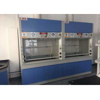 Buy cheap Full Steel Laboratory Fume Cupboards PP / PVC Duct With 30W / 40W Lighting from wholesalers