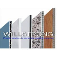 Buy cheap UPVC Wall Cladding Corrugated Composite Panels , Aluminium Sandwich Panel from wholesalers