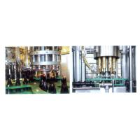 Buy cheap Liquor / Wine / Beer Glass Bottle Filling Machine , Pure Water Filling Plant 18-18-6 from wholesalers