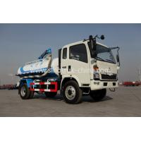 Buy cheap HOWO 4×2 High Safety Suction Sewage Truck Overall Dimensions 6880×2330×2870 from wholesalers