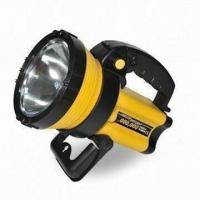 Buy cheap Handheld Spotlight with 2,000,000cp LED Candle Power and Warning Light Function from wholesalers