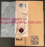 Buy cheap 2L 3L 5L plastic valve wine bag in box water dispenser laminated aluminum bib bag in box wine dispenser bag bagease pack from wholesalers