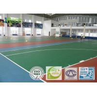 Outdoor Basketball Court Flooring Material , Modular Basketball Flooring High Rebound Force