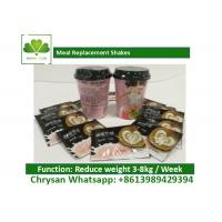 Low Carb / Low Fat Coffee Meal Replacement Shakes For Weight Loss OEM