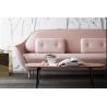 Buy cheap European style luxury living room Hotel Leisure fabric fiberglass favn sofa from wholesalers