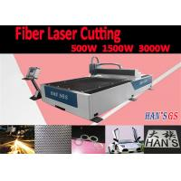 Buy cheap Lower Running Cost CNC Laser Cutting Machine for Aluminum / Brass Plates Cutting from wholesalers