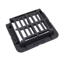 Buy cheap EN124 D400 End Hinged Cast Iron Drain Cover With Black Bitumen Coated from wholesalers