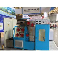 Buy cheap 15KW Main Motor Pulley Wire Drawing Machine 1500mpm DC Three Section Annealing from wholesalers