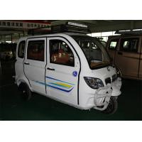 Buy cheap Enclosed Motor Assisted Tricycle , 200 CC Passenger 2700 MM Length Cargo Tricycle Motorcycle from wholesalers