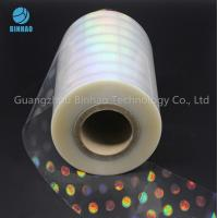 Buy cheap Anti Counterfeiting Label Laser Holographic Polyethylene BOPP Film For Food Medicine Box Packing product