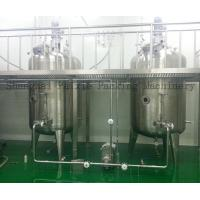 Buy cheap SS316 Electric Chemical Mixing Tank For Sticky Liquid ,  Keep Warm Function from wholesalers