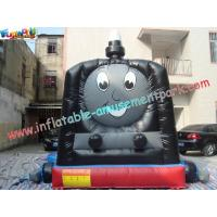 Buy cheap PVC Kids Outdoor Thomas Train Inflatable Commercial Bouncy Castles Jumping House 4x3x3M from wholesalers