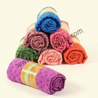 Buy cheap Super Absorbent Microfiber Non Slip PVC Skidless Yoga Towel from wholesalers
