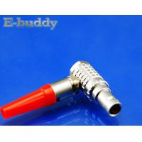 Buy cheap Lemo Compatible Connector FHG 00B 0B 1B 2B Right Angle Circular Cable Connector 90 Degree Male Plug from wholesalers