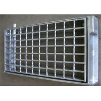 Buy cheap 30 × 3 Floor Trough Drain Grates , Sliding Resistant Metal Trench Drain Grates from wholesalers